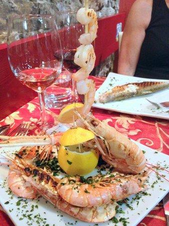 Borgovino : Crayfish & Shrimp