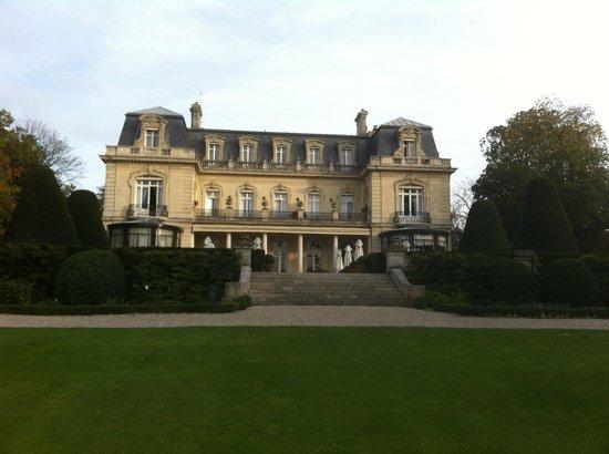 Château Les Crayeres : vue du parc