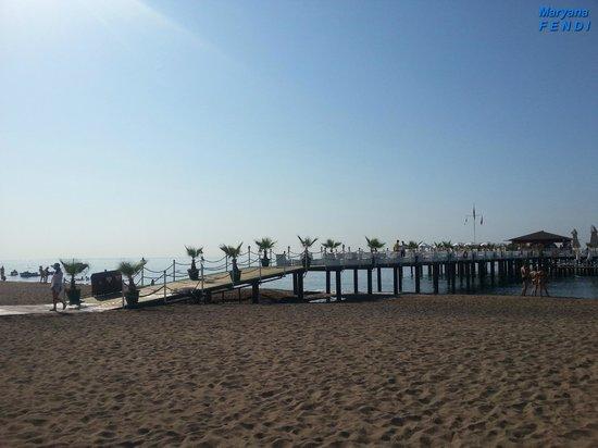 Delphin Imperial Hotel Lara : Пляж