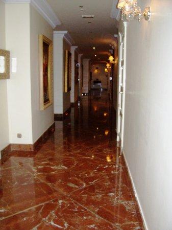 Hotel Alameda Palace: Pasillos del piso de las habitaciones