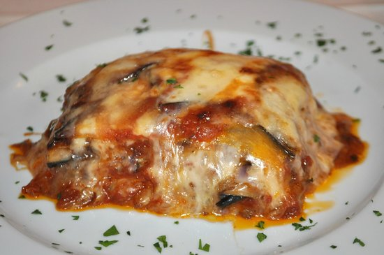 Osteria Le Panzanelle: Melanzane alla parmigiana (eggplants with mozzarella)
