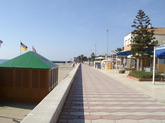Protur Roquetas Hotel & Spa: Prom