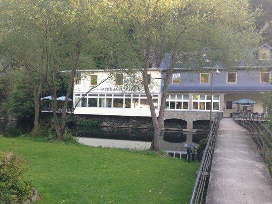 Dirbach Plage Hotel : Hotel across the river