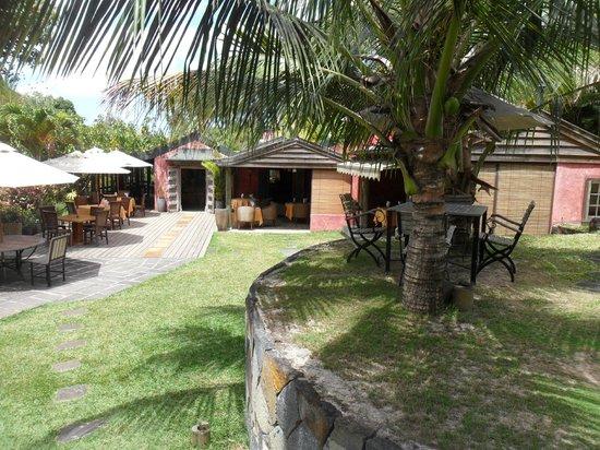 Lakaz Chamarel Exclusive Lodge: vue sur le resto