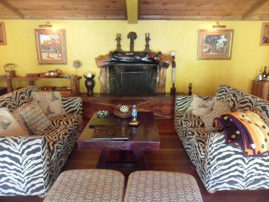 Lakaz Chamarel Exclusive Lodge: lobby