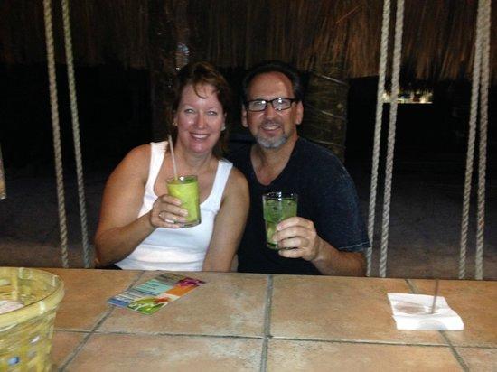 Lido Club de Playa: Enjoying Our Cocktails