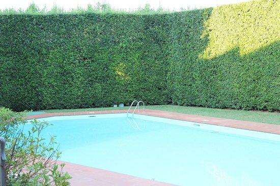 Villa La Fornacina : muro di siepe