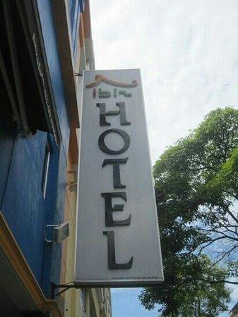 Ibiz Hotel: Signage