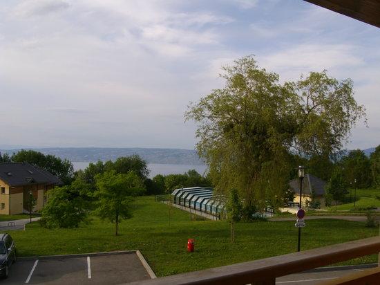 Park & Suites Village Evian Lugrin: vue du balcon