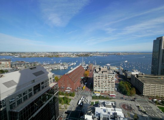 Marriott Vacation Club Pulse at Custom House, Boston: What a view of the Harbor