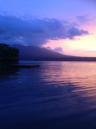 Jicaro Island Ecolodge Granada : Yoga Platform View