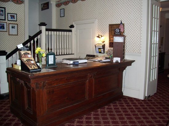 The Excelsior House: Front Desk
