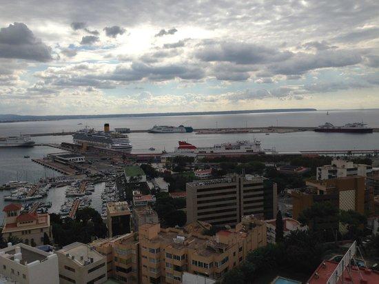 Hotel Amic Horizonte : vue de notre chambre