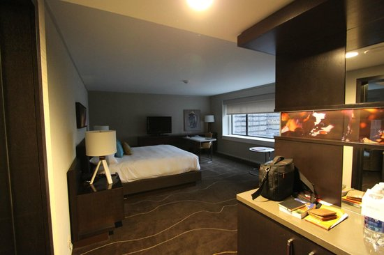 Grand Hyatt Denver Downtown : great room without a view