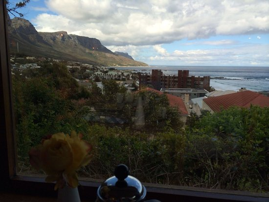 The Bay Atlantic Guest House: View from breakfast table
