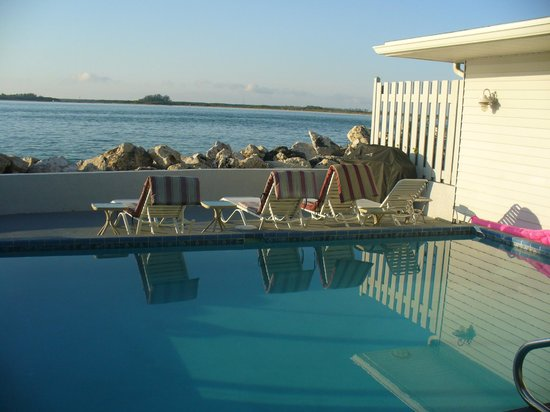 Island's End Resort: Private pool of the three-bedroom cottage