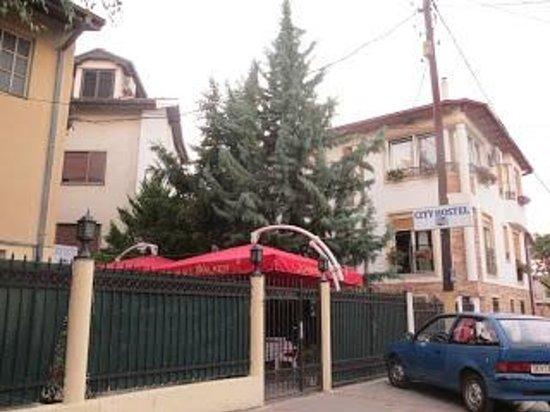 City Hostel Skopje : ホステル入口