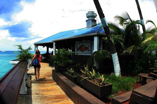 Rackam S Waterfront Restaurant Bar Rackams Water Front And Grand Cayman Islands