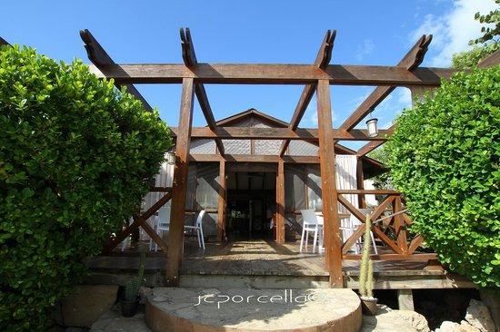 El Morro Eco Adventure Hotel: Restaurant