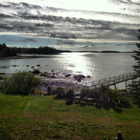 9th Wave Lodge: View from room 10