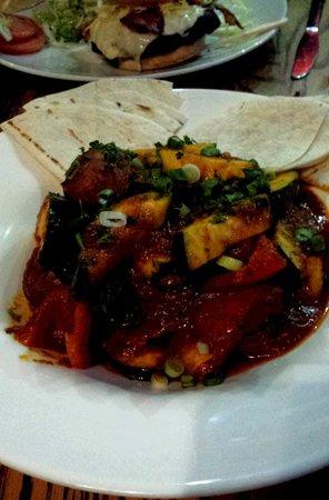 Eddie Webster's Dining Room: Stewed Vegetable Curry...delish!!!
