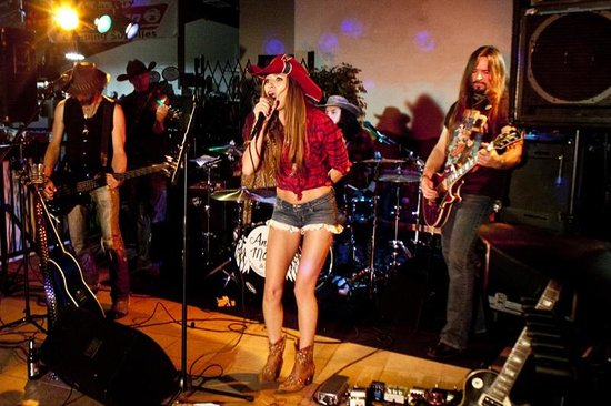 Rockwood, TN: Angel Mary & the Tennessee Werewolves performing at our 2012 Halloween Party.