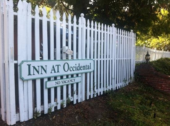 Inn at Occidental : front gate