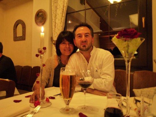 Gasthof Feichter: Noi al ristorante