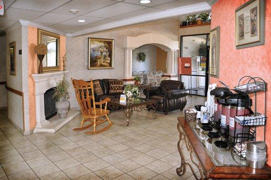 Comfort Inn Cedar Park: Great Lobby