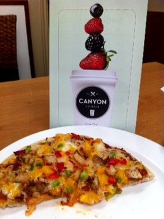 Canyon Breeze Restaurant: Canyon  Counter Flatbread Pizzas