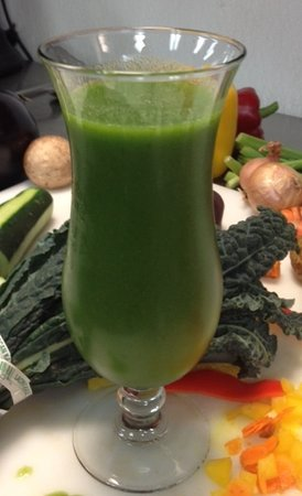 Canyon Breeze Restaurant: Green Machine Smoothie
