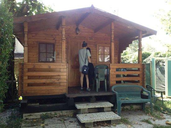 Camping Serenissima: Log Cabin