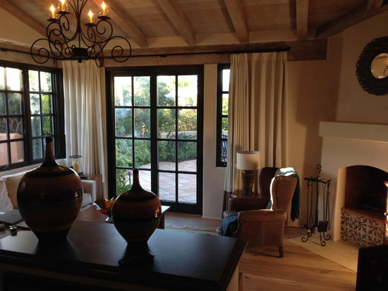 Rancho Valencia Resort & Spa : Sitting area