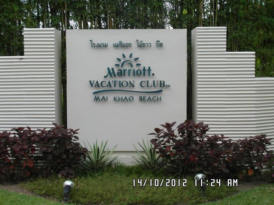 Marriott's Mai Khao Beach - Phuket: Welcome!!!!