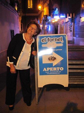 Trieste - El Fornel - Segui la freccia