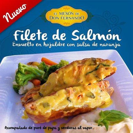 El Meson de Don Fernando: Filete de Salmón