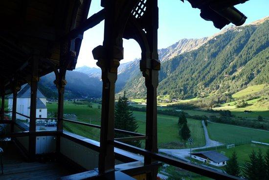 Hotel Sonklarhof: Ausblick vom Balkon