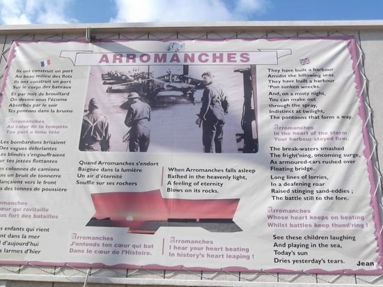 Musee du debarquement : British landings