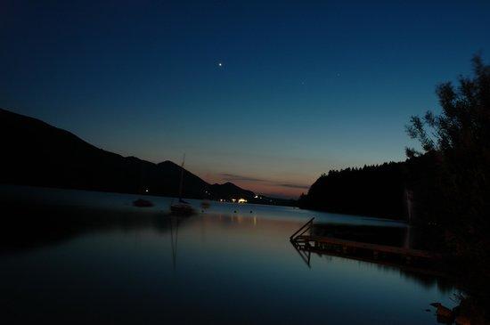 Ebner's Waldhof am See: Abendstimmung Fuschl am See