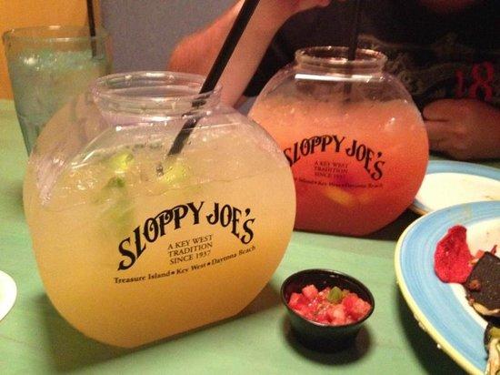 Bilmar Beach Resort: Fish Bowl Margaritas