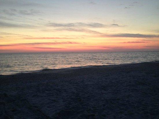 Bilmar Beach Resort: Beautiful Sunset