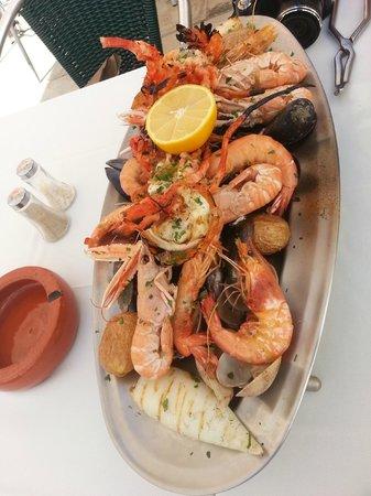 Restaurante Sagres Cascais: La mariscada