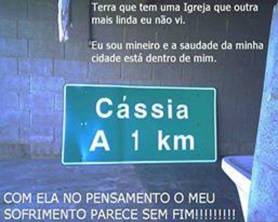 Cassia, MG: cidade querida