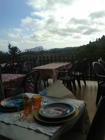 Restaurante Canis: View from terrace