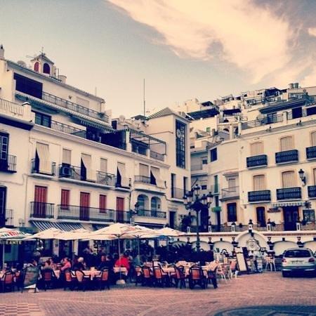 La Taberna de Oscar: walking from Oscars to the main square