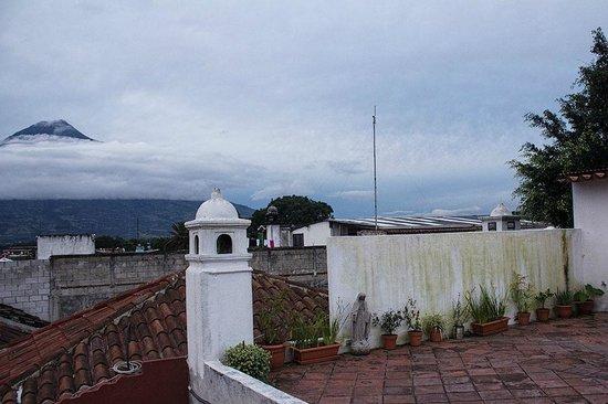 Mosaico Bistro Guatemala: Vista de la terraza