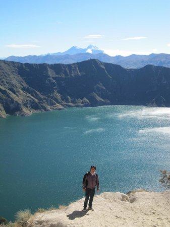 Laguna Quilotoa: vista