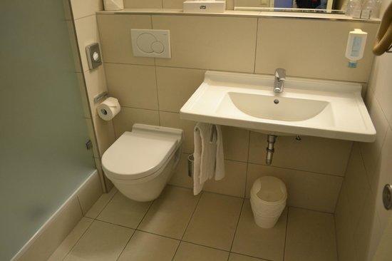 Alvisse Parc Hotel: Bathroom
