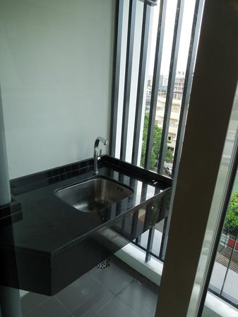 At Mind Executive Suites: Balcony