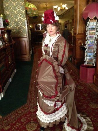Strater Hotel : Heritage Celebration costume in the lobby